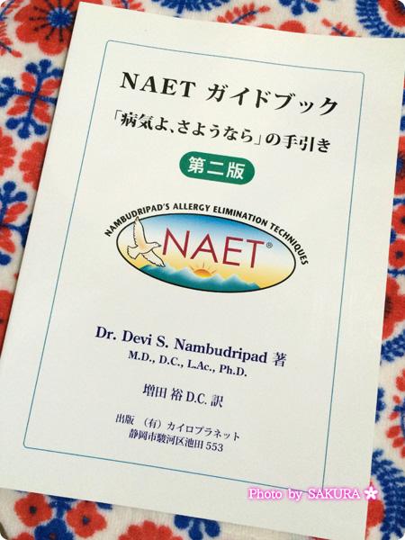 NAETガイドブック「病気よ、さようなら」の手引き 表紙